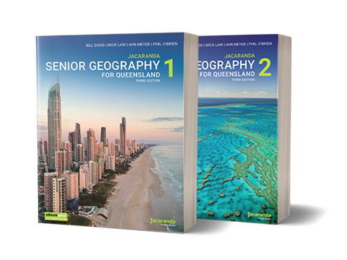 Senior Geography 1 & 2 for Queensland Books