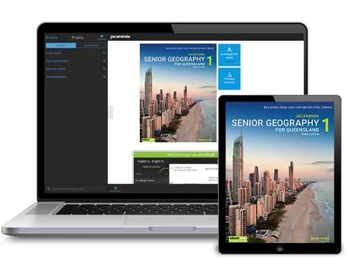 Senior Geography for Queensland Laptop & iPad