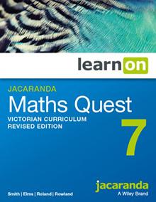 Jacaranda Maths Quest 7 VC learnON