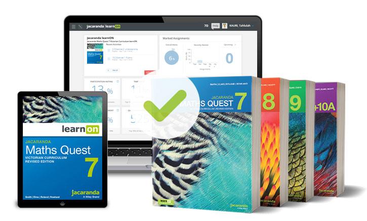VC Maths 7-10 4 books
