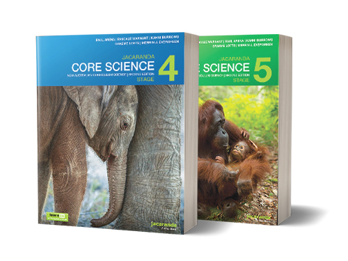 Jacaranda Core Science Stage 4 & 5