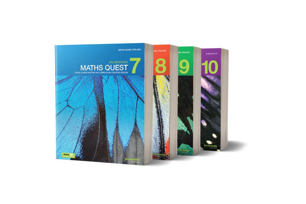 Jacaranda Maths Quest 7 - 10