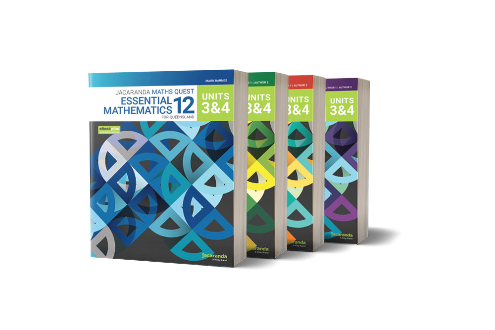 Jacaranda Maths Quest For Queensland Units 3 & 4 Book Set