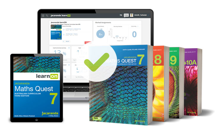 Maths Quest 7-10 AC Series