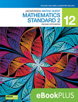 Jacaranda Maths Quest 12 Mathematics Standard for NSW 5e eBookPLUS