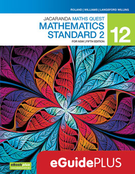 Jacaranda Maths Quest 12 Mathematics Standard for NSW 5e eGuidePLUS