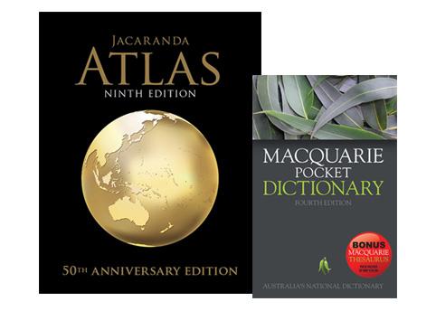 Jacaranda Atlas Dictionary