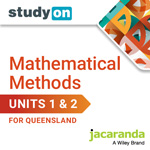 Mathematical Methods Units 1&2 for Queensland studyON