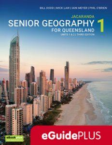 Jacaranda Queensland Senior Geography 1 eGuidePLUS