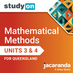 Mathematical Methods Units 3 & 4 for Queensland studyON