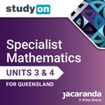 Specialist Mathematics Units 3&4 for Queensland studyON