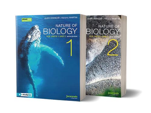 Jacaranda Nature of Biology VCE series