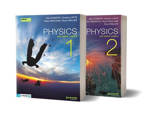 Jacaranda VCE Physics series books
