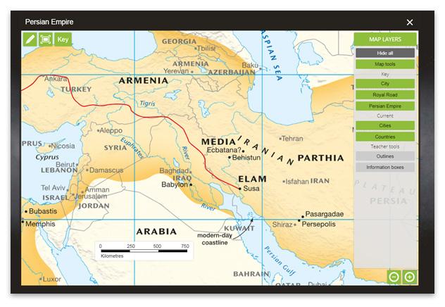 Jacaranda myWorld Atlas 2019 new maps