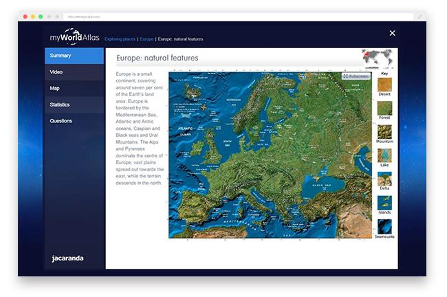 myWorld Atlas engagement