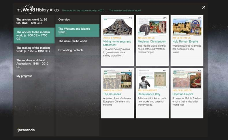 myWorld History Atlas