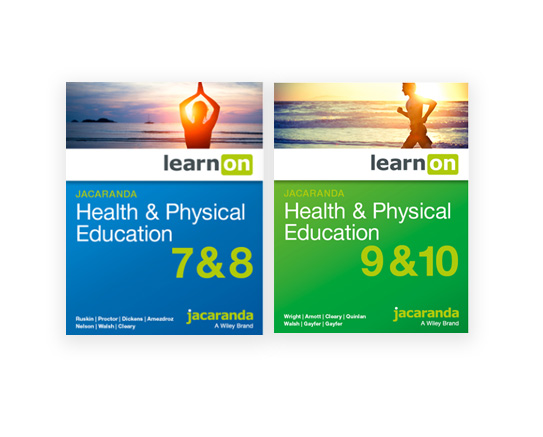 Jacaranda Health and Physical Education 7-10 series