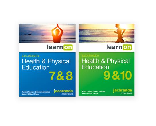 Jacaranda Health and Physical Education 7-10 series