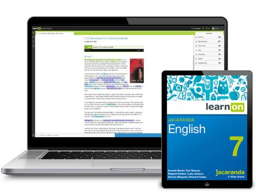 Jacaranda English 7 Devices