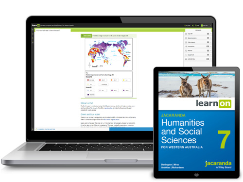 Jacaranda Humanities and Social Sciences for WA Devices
