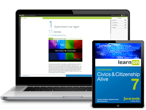 Jacaranda AC Civics and Citizenship Devices