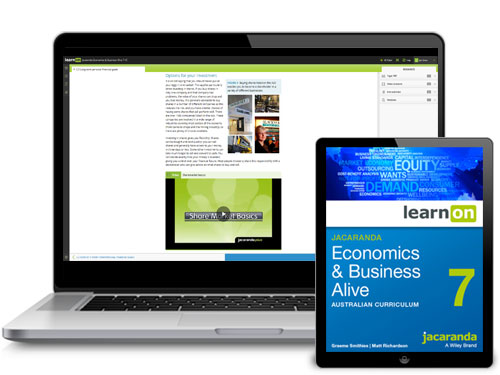 Jacaranda AC Economics and Business Alive Devices