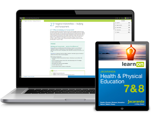 Jacaranda AC Health and Physical Education Devices
