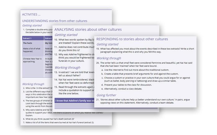 Jacaranda English screengrabs (accessible)
