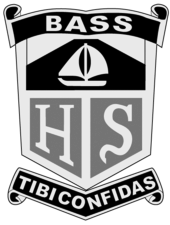 Bass High School logo