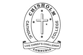 Chisholm Catholic College Cornubia school logo