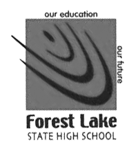 Forest Lake State High School logo