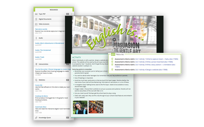 Jacaranda English screengrabs (immersive experience)