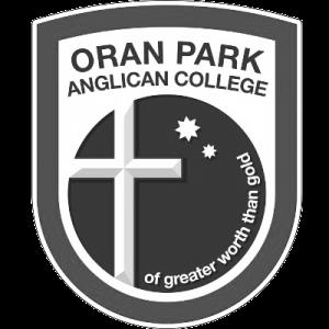 Oran Park Anglican College school logo