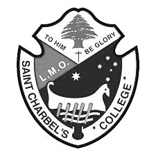 St Charbel's College school logo