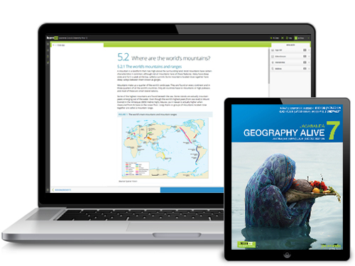 Jacaranda Geography Alive AC series devices