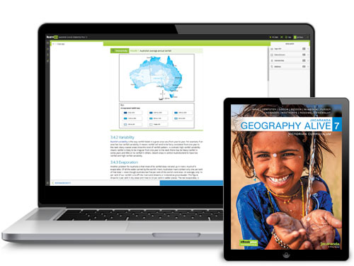 Jacaranda Geography Alive VC series devices