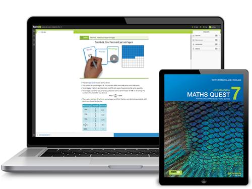 Jacaranda Maths Quest AC series devices