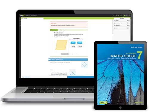 Jacaranda Maths Quest NSW Ac series devices
