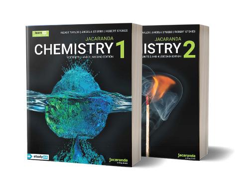 Jacaranda Chemistry VCE series