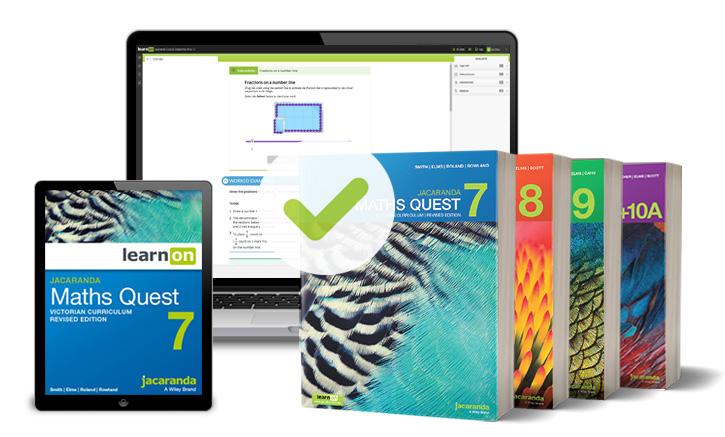 Jacaranda Maths Quest VC series