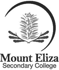 Mount Eliza Secondary College school logo