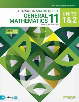 Jacaranda Maths Quest 11 General Maths for QLD