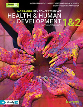 Key Concepts in VCE Health and Human Development Units 1 &2 learnON