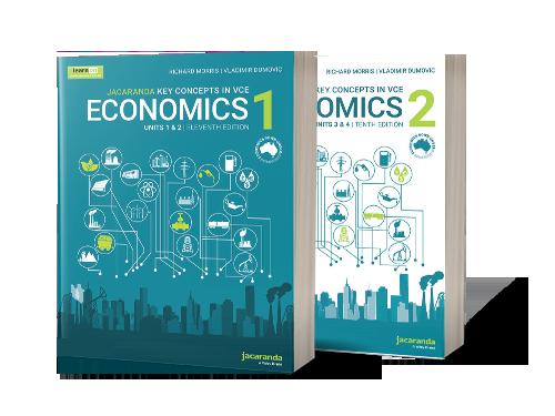 Jacaranda VCE Economics Down Under Books