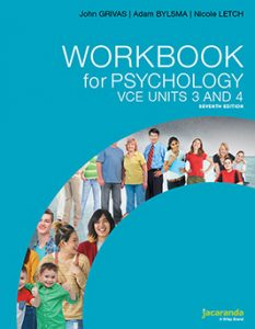 Psychology Workbook VCE Units 3 & 4 8th Edition
