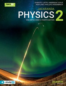 Jacaranda Physics 2 VCE Units 3&4 4E cover