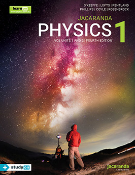 Jacaranda Physics 1 VCE Units 1&2 4E cover