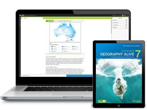 Jacaranda Geography Alive VC 2E Devices
