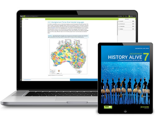 Jacaranda History Alive VC 2E Devices