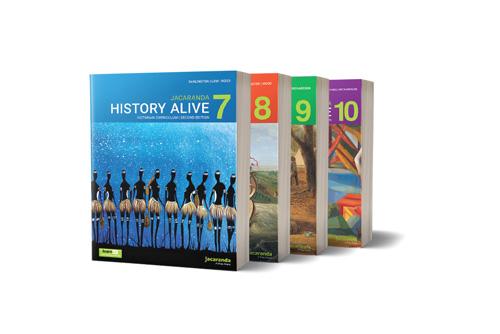 Jacaranda History Alive 7-10 VC series 2E